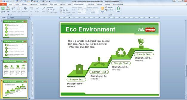 green powerpoint