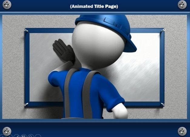 handyman animation for powerpoint presentations