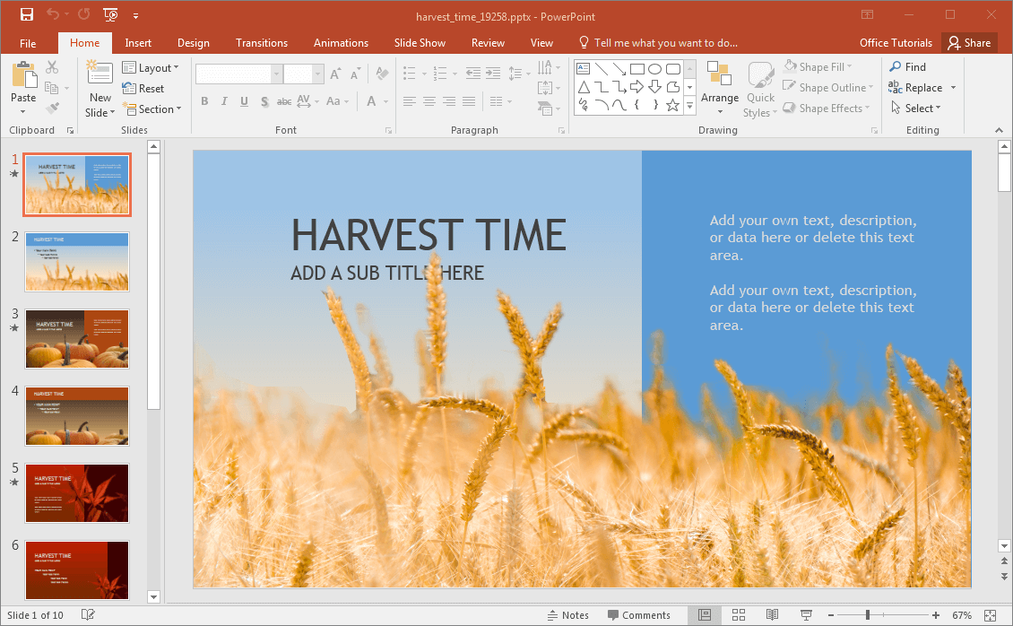 harvest-time-powerpoint-template