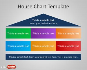 House Chart Diagram for PowerPoint