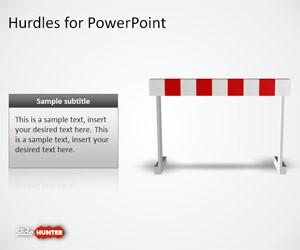 Hurdles Shapes for PowerPoint