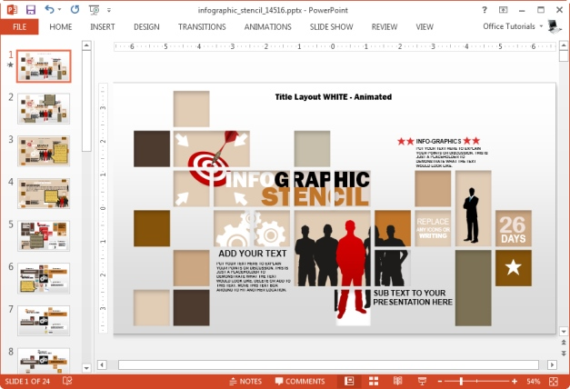 infographic template for microsoft powerpoint