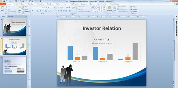 Corporate Executive PowerPoint Template