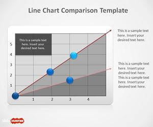 Line Chart PowerPoint Template