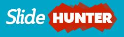 Logo SlideHunter Aqua Background