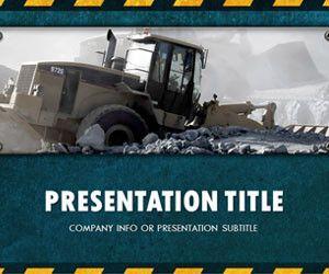 Engineering Work PowerPoint Template