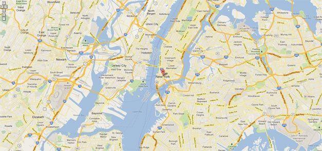 maps new york free