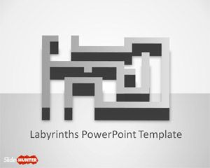 Labyrinth PowerPoint Template