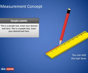 Measurement Concept PowerPoint Template