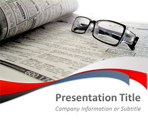Media and News PowerPoint Template