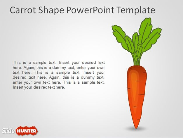carrot powerpoint template