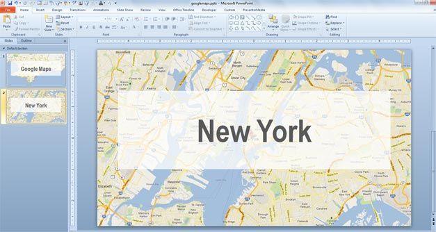 new york google maps