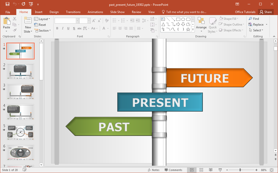 past-present-future-template-for-powerpoint