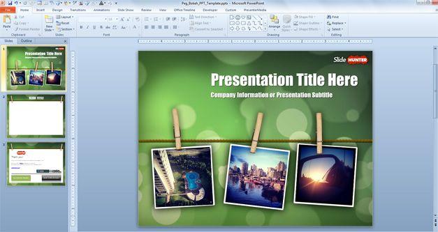 photos in powerpoint clip
