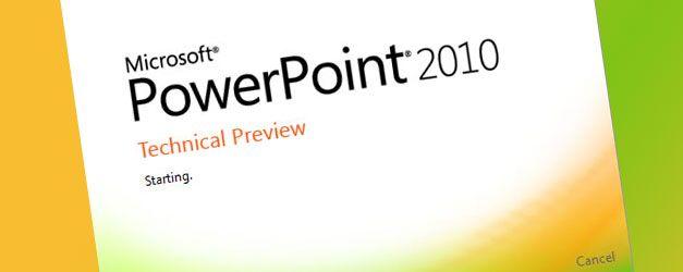 powerpoint 2010 intro slide