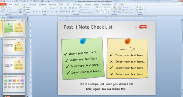 Lista PowerPoint