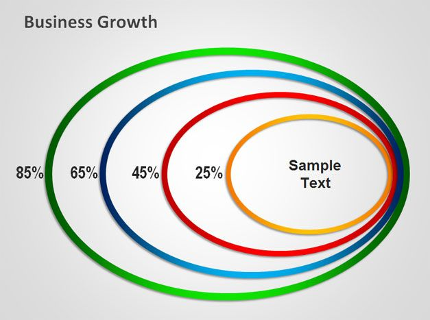 PowerPoint Graphics Concentric Circles