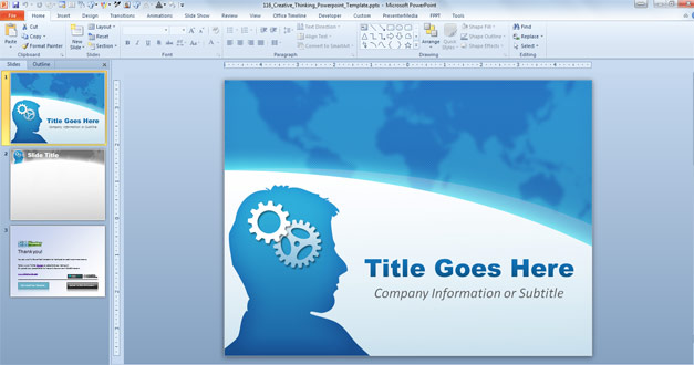 Free Creative Professional templates for PowerPoint