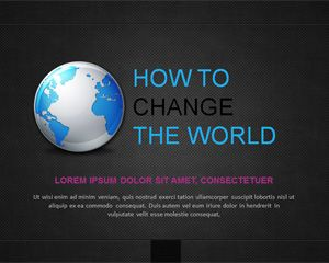 Dark Professional PowerPoint Template for Business