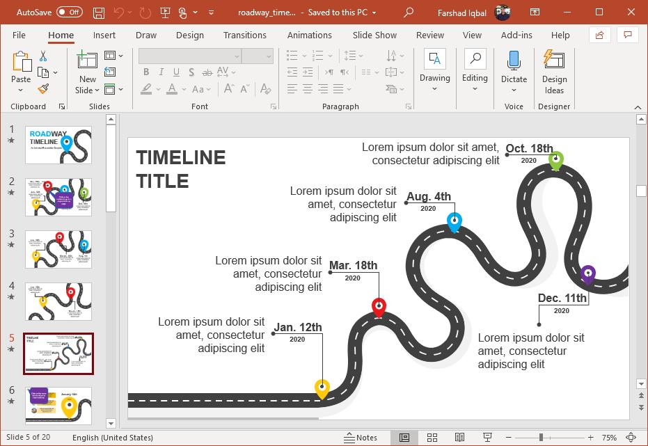 project roadmap design