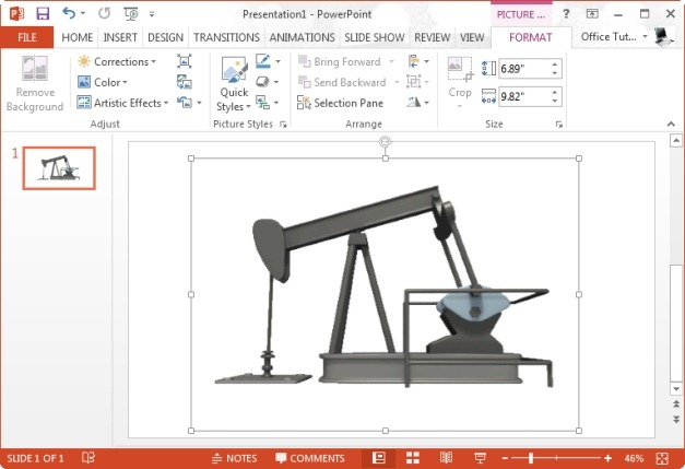 pumping oil animated clipart