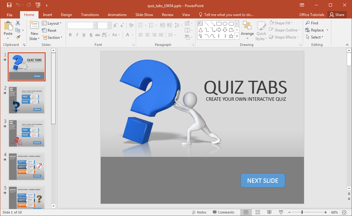 powerpoint-quiz-template