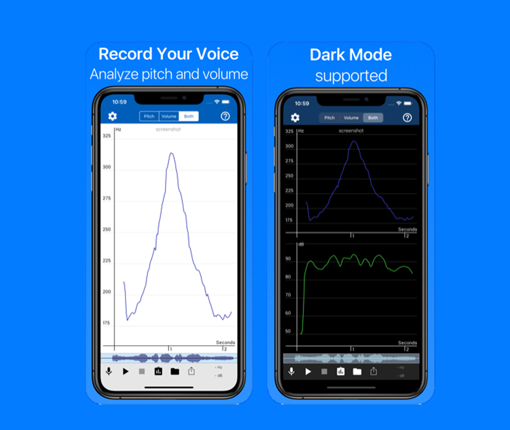 record and analyze voice