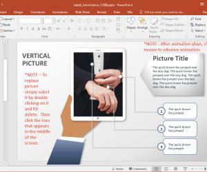 sample image in tablet