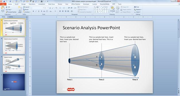 Scenario Funnel Diagrams