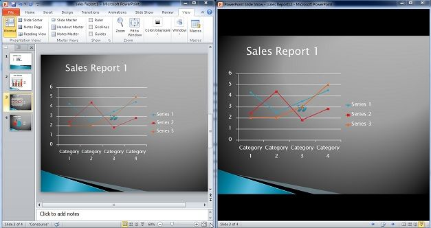 two monitor powerpoint