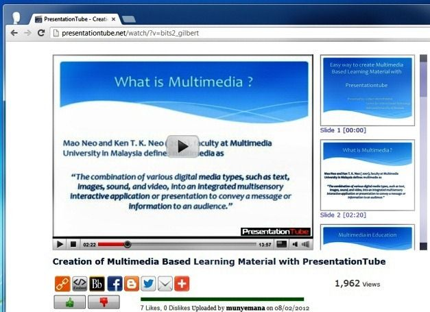 Share Presentations