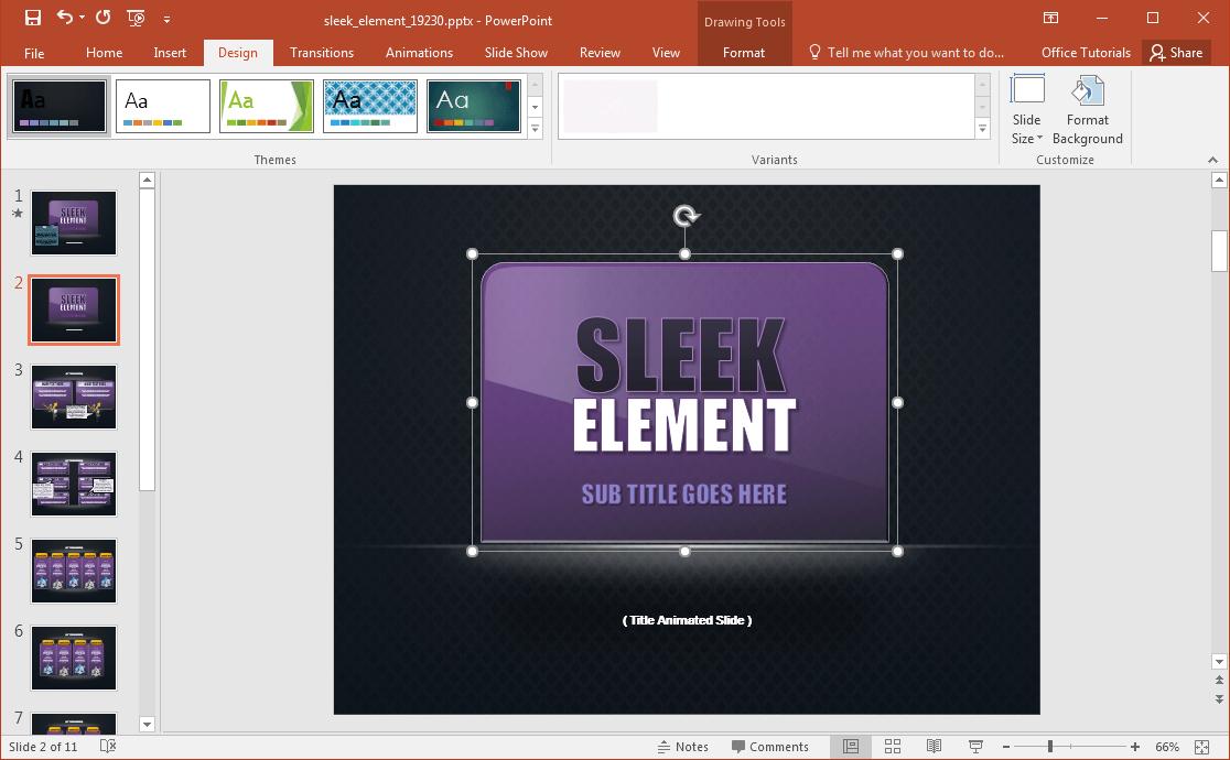 sleek-powerpoint-template