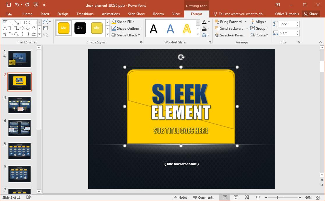 sleek-presentation-design