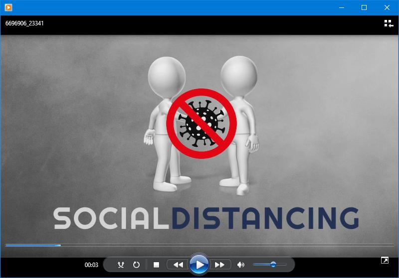 social distancing video