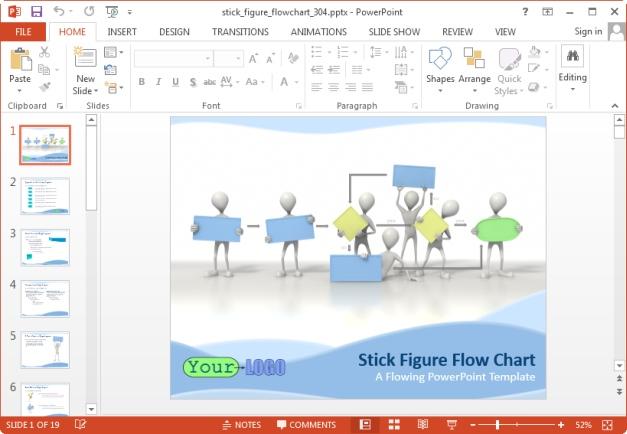 stick figure flow chart