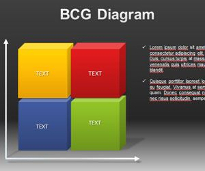BCG PowerPoint Diagram Template