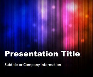 Northern Lights 02 PowerPoint Template