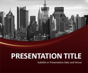 Corporate Identity PowerPoint Template