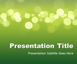 Green Marketing PowerPoint Template