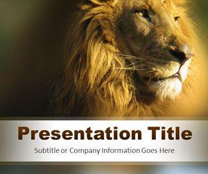 Strength PowerPoint Template
