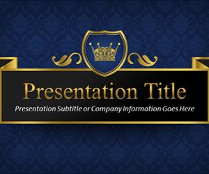 King PowerPoint Template