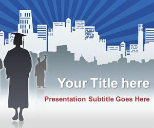 Graduated PowerPoint Template