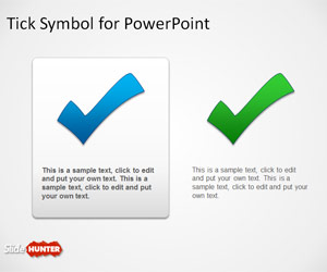 Tick Symbol for PowerPoint Presentations