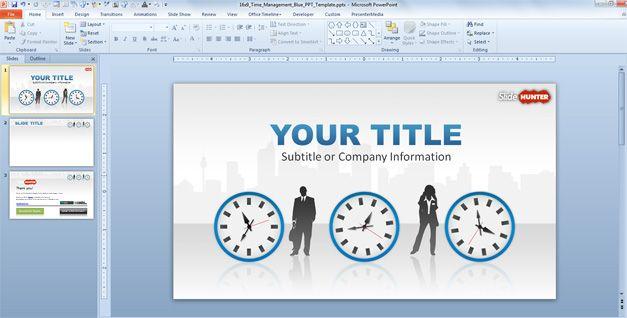 Time Management slide