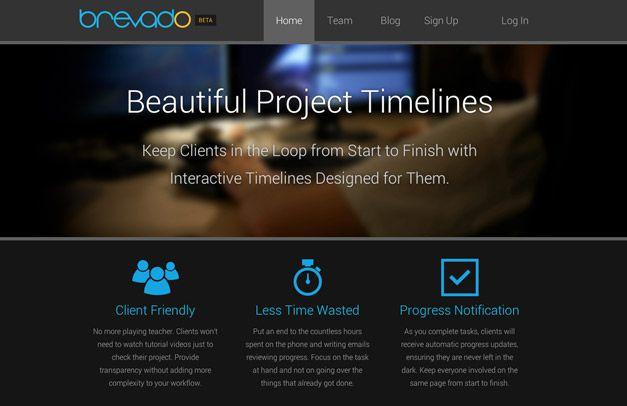 timeline creator Brevado