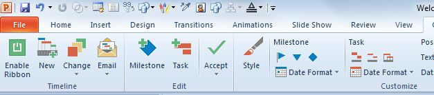Timeline office for PowerPoint