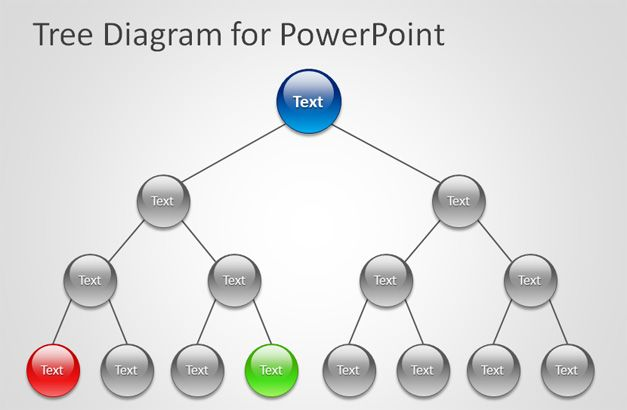 tree diagram for powerpoint presentations