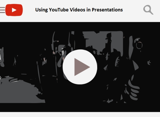 using youtube videos in presentations