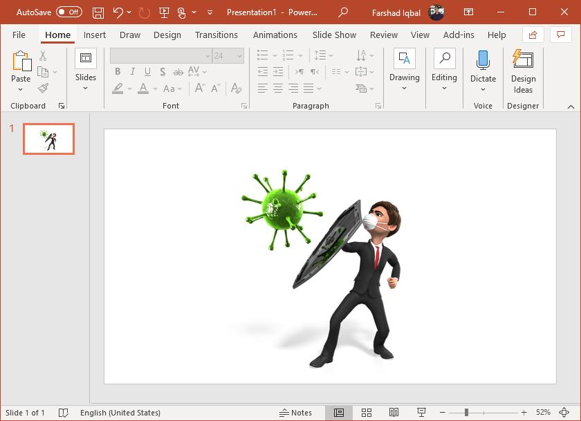 virus prevention clipart for powerpoint