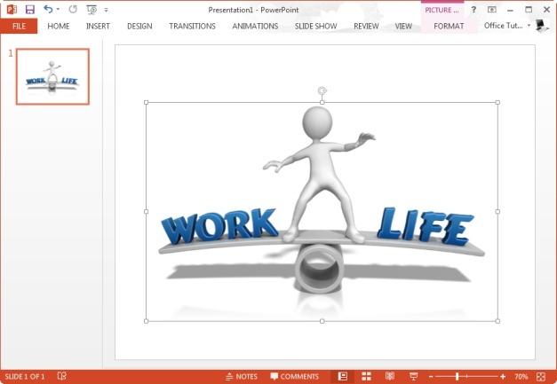 work life balance clipart image